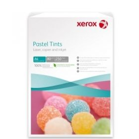 Hartie colorata A4 80 gr/mp 5 x 50 coli/top Xerox Symphony mix pastel