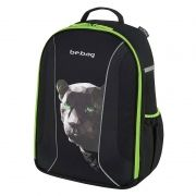 Rucsac ergonomic Herlitz Be.Bag Airgo Black Panter + CADOU