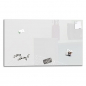 Whiteboard magnetic din sticla 90 x 120 cm
