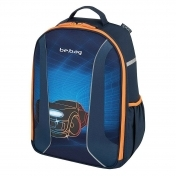 Rucsac ergonomic Herlitz Be.Bag Airgo Race car + CADOU