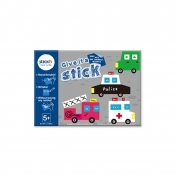 "Carte creativa Stick""n Give it a Stick - patrate (+5 ani)"