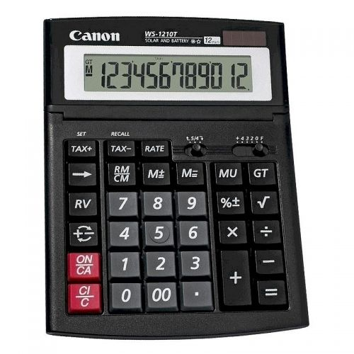 Calculator birou 12 digiti Canon WS 1210T