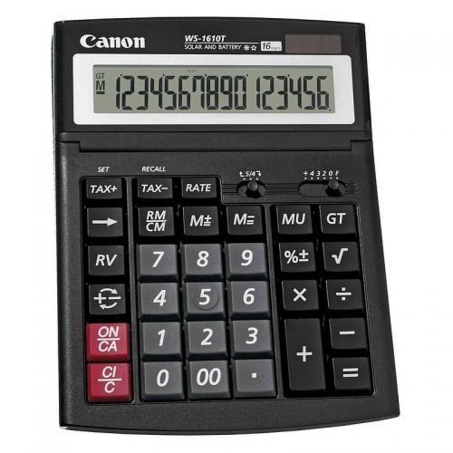 Calculator birou 16 digiti Canon WS 1610 T
