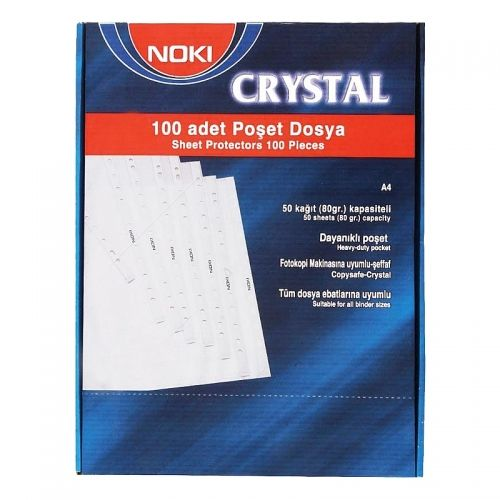 File protectie document cristal A4 90 microni tip
