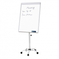 Flipchart whiteboard magnetic pe role 103 x 70 cm
