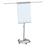 Flipchart magnetic pe role cu brate laterale  Professional Memoboards 105 x 68 cm