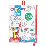 Set creativ Carioca Create & Color Sea & Jungle